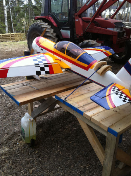 Yak 54 Bench Test.